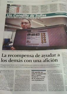 UN CONEJILLO DE INDIAS EN EL DIARIO DE BURGOS