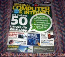 UN CONEJILLO DE INDIAS  EN PERSONAL COMPUTER & INTERNET