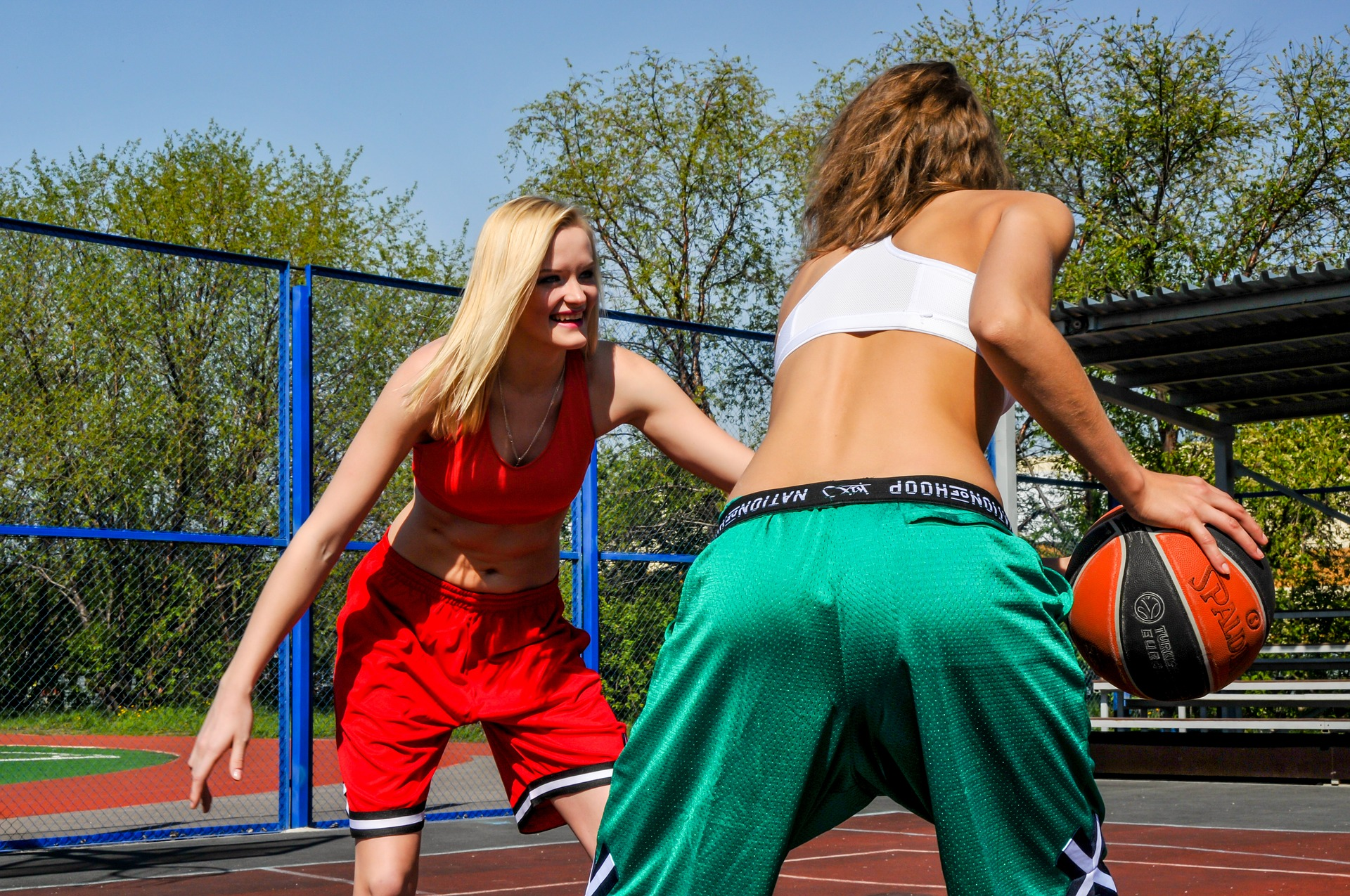 Basketball is getting popular among girls