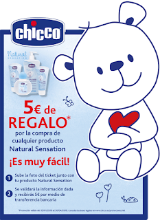 REEMBOLSO CHICCO NATURAL SENSATION