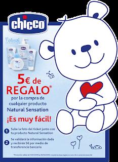 REEMBOLSO CHICCO NATURAL SENSATION