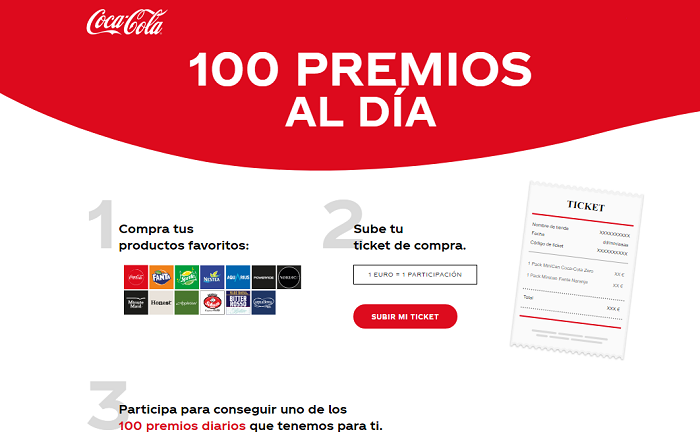 PROMOCIÓN COCA-COLA «LA RUEDA DE LOS CIEN»