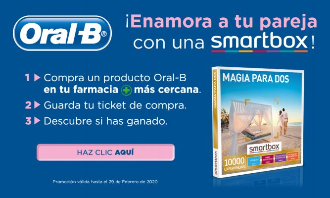 SORTEO SMARTBOX CON ORAL-B