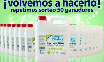 SORTEO «BACTEROLINE MAYO» INSTITUTO ESPAÑOL