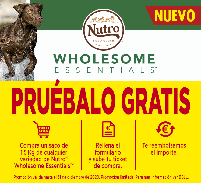 NUTRO WHOLESOME ESSENTIALS REEMBOLSO